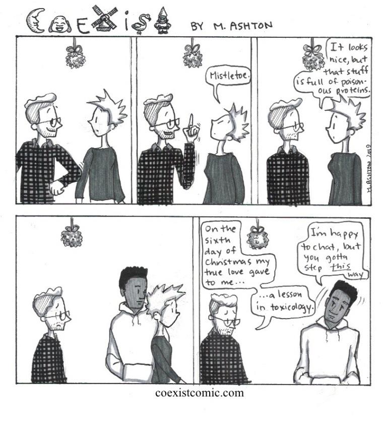 Coexistmistletoe